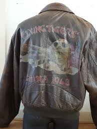 avirex flying tigers china 1943 john wayne leather er jacket men