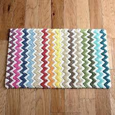 multi colored bath rugs bathroom area rug handcrafted