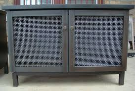 Custom Metal Cabinets Hand Made Cabinet Radiator Cover Industrial Modern By Andrew