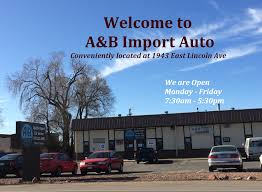 wele to a b import auto fort collins road construction information