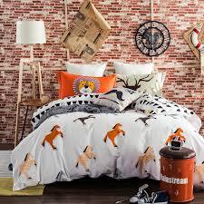 4pcs winter bedding set 100 oragnic cotton duvet cover