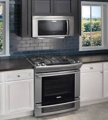 range microwave combo.  Range Above The Electrolux Range Includes A Multitude Of Innovate Features  Including LuxuryGlide Oven Racks With Ballbearing System Which Means The Oven  To Microwave Combo Remodelista