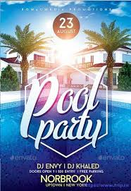 Part Flyer 50 Best Summer Pool Party Flyer Print Templates 2017 Beach Party