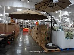 8 ft patio umbrella awesome 11 foot parisol cantilever umbrella costco images