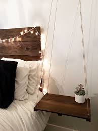 urban rustic furniture. Furniture:Rustic Elegant Headboard With Floating Side Table Hanging Amazing Bedside Lights Ceiling Tables Diy Urban Rustic Furniture