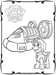 Marshall Paw Patrol Coloring Page At Getdrawingscom Free For