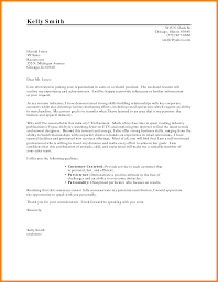 4 Persuasive Career Change Cover Letter Address Example