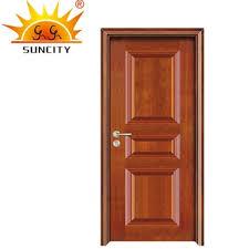 Indian Craft Wooden Main Door Design Main Entrance Wooden Doors SC W008