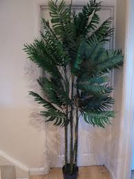 uk gardens 6ft artificial palm tree in a pot 1 8m green foliage house office