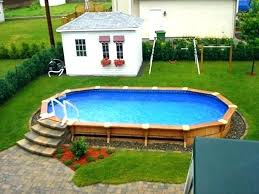 above ground pool deck designs simple plans free swimming design pictures with how to build a diy stamped concrete increase the v