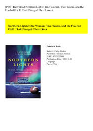 Northern Lights Book Pdf Download Pdf Download Northern Lights One Woman Two Teams And The