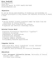 Student Resumes Template Resume Template For No Work Experience Hotwiresite Com