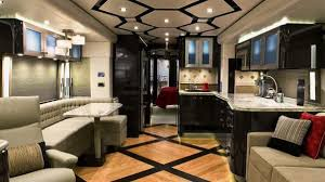 Gas-Powered Luxury Class A RV with Island Kitchen, Bar, & Wine Rack 37  foot. to 38 foot Class A Motorhomes | Camping | Pinterest | Island kitchen,  Rv and ...