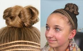Simple Braided Bun | Cute Girls Hairstyles | Cute Girls Hairstyles