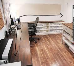Counter Top Desks The Fancy Diy Desk Using Quartz Counters For Your Desk O Lindsay