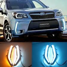 Subaru Forester Light Blue Us 42 03 10 Off Car Flashing 2pcs Led Daytime Running Light Drl Turn Siganl With Night Blue For Subaru Forester 2013 2014 2015 2016 2017 2018 In Car