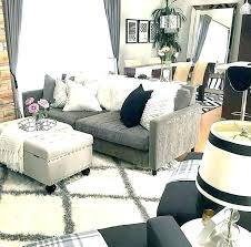 blue gray sofa couch grey what color walls rugs for living room