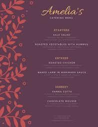Catering Menu Templates Free Customize 53 Catering Menu Templates Online Canva