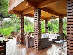 Column ideas_exterior wood ideas