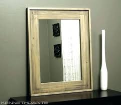 framed bathroom mirrors rustic rustic wood bathroom mirror mirrors wood framed mirror design ideas weathered light