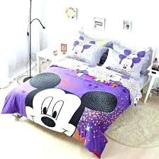 Queen Size Minnie Mouse Bedding Sets Mickey And Comforter Set Mouse ...