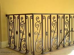 Wrought Iron Handrails Stair Rails