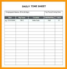 Time Sheets Excel Employee Timesheet Template Excel Spreadsheet Unique Daily Time