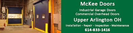 industrial garage doorsUpper Arlington OH  Commercial Overhead Doors Dock Industrial