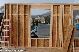 Framing A Exterior Wall Frame Interior Wall