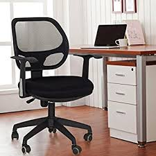 school desk chair back. Wonderful Back Adeco BackToSchool Sale Black Deluxe Support High Back Cushioned Office  Desk For School Chair 5
