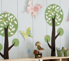 ... Baby Pottery Barn Wall Decals Mini Sample Butterfly Tree Bird Green  Craft Furniture Map Remarkable remarkable ...