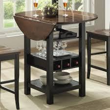 ridgewood counter height drop leaf dining table with jofran braden birch round dropleaf storage