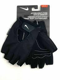 Nike Training Gloves Size Chart Nike Training Gloves Half Finger Mens W