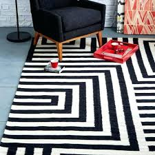 black and white striped rug black and white rug view in gallery black and white maze
