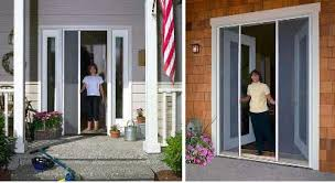 entry doors with retractable screens. allied can provide and install retractable screens for your windows, doors, porch even garage openings. they are when you need them completely entry doors with