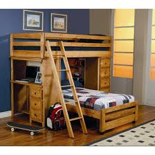 Loft Bed Small Bedrooms Bunk Beds With Stairs Rooms To Go The Ranger Bunk Bed Collection