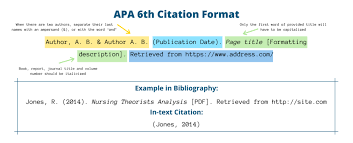 apa 6th edition guide for students