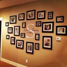 family portraits centered around your monogram on family picture frame wall art with 32 gorgeous gallery wall ideas that everyone in the house will love