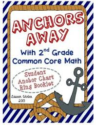 Common Core Anchor Charts Second Grade Common Core Math Standards Anchor Chart Rings