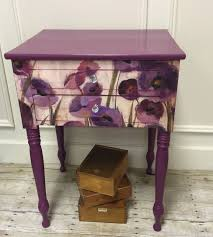 floral decoupage furniture. Plum Floral | General Finishes #decoupagefurniture Tuneando Muebles: Decoupage Pinterest Finishes, Tv Stands And Furniture
