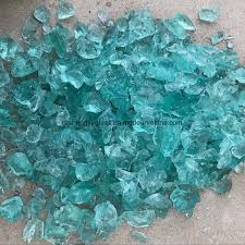 china fire pit colored glass chip for decoration china glass for fireplace glass granule