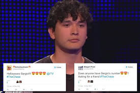 The Chase viewers swoon over 'dreamy' student as they hail him the show's  hottest ever contestant