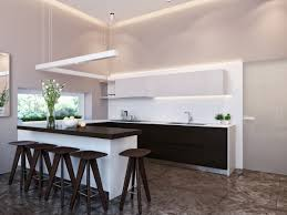 modern house interior dining room.  House Modern Neutral Dining Room Kitchen 4 In Modern House Interior Dining Room R