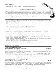 Interior Designer Sample Resume Sample Resume For Senior Interior Designer Save Interior Designer 4
