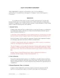 Investment Agreements Equity Investment Contract Debt And Credit Agreements Legal Cp 1