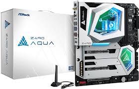 Системная <b>плата ASRock Z490</b> Aqua комплектуется водоблоком ...
