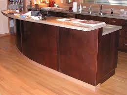 Curved Kitchen Island Designs Amazing Of Stunning Dp Nar Bustamante Green Contemporary 6213