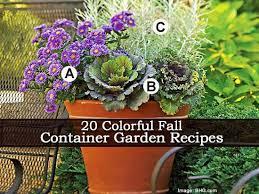 19 Fall Container Garden IdeasContainer Garden Ideas For Fall