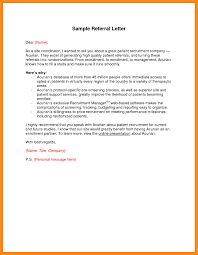 cover letter examples with referral sample referal letters sample referral cover letter cover letter sample