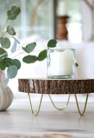 tree slice cake stand wooden footed wood tray or a rustic natural nz australia